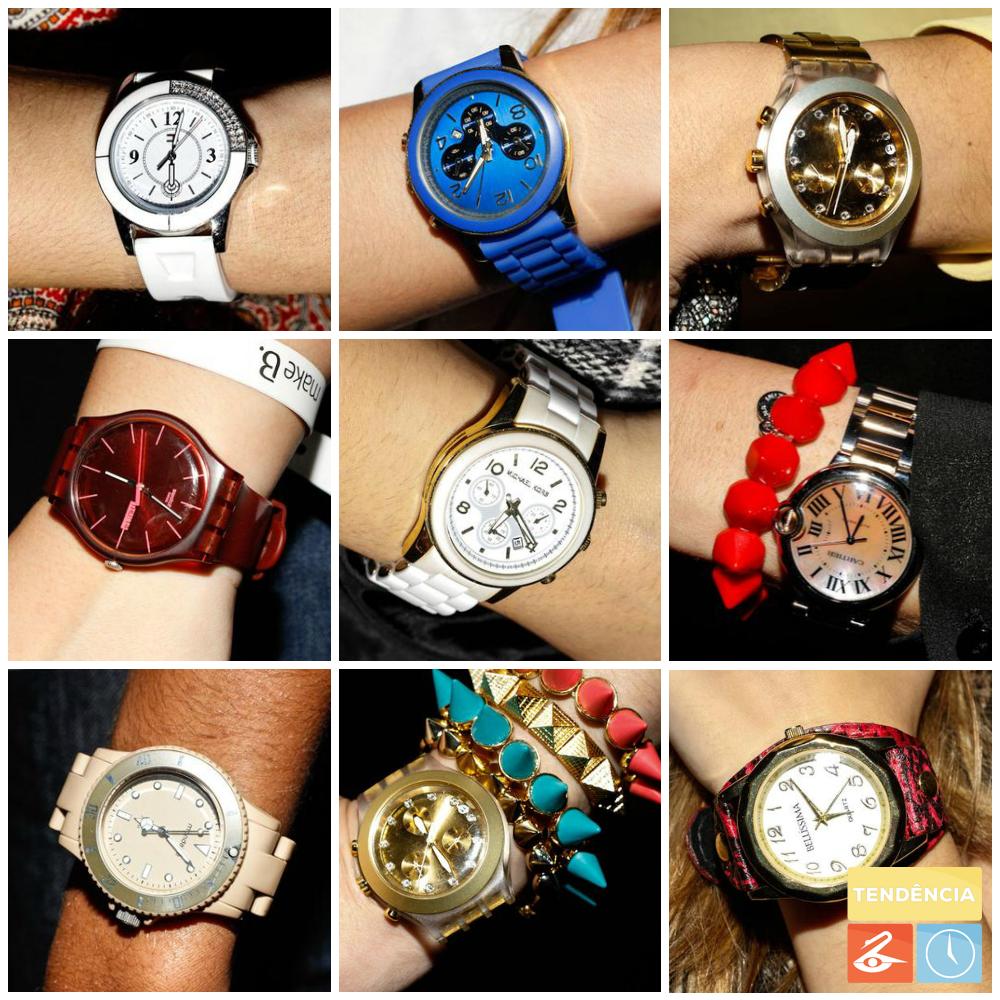 Relógios SPFW