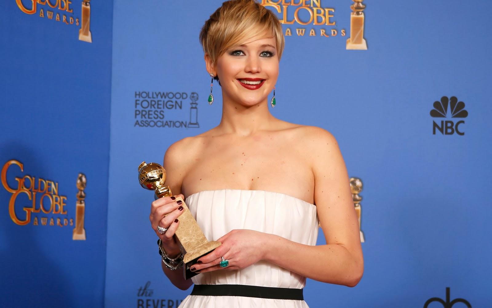 Jennifer Lawrence - Globo de Ouro 2014